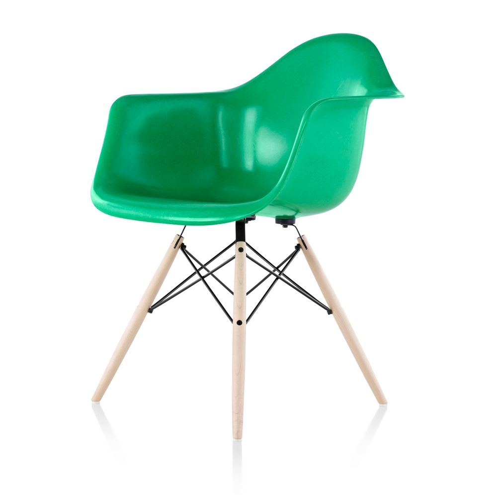 eames molded fiberglass chair seating stacking chair herman miller